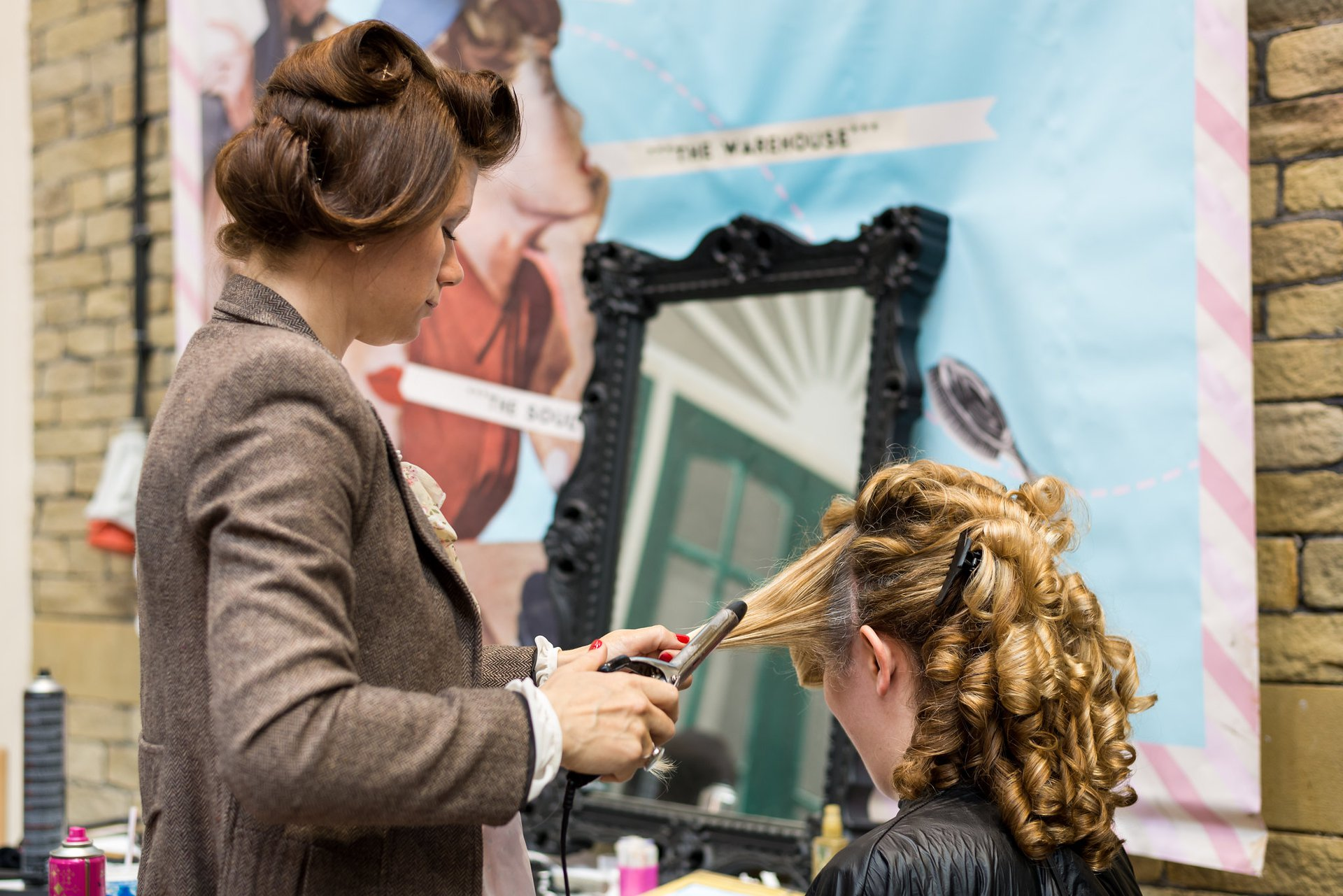hair at Vintage by the sea 2018