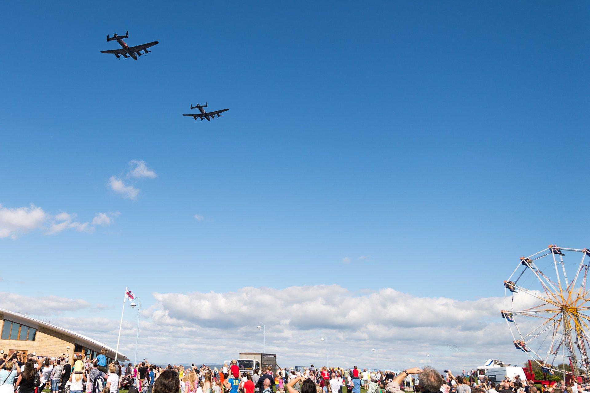 Dakota RAF flypast