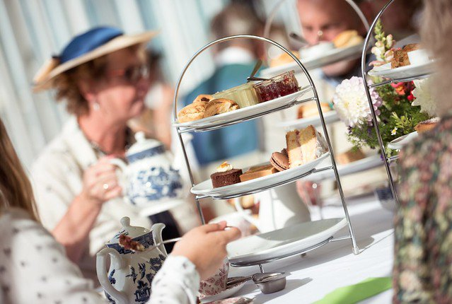 Afternoon Tea at Vintage by the Sea 2018