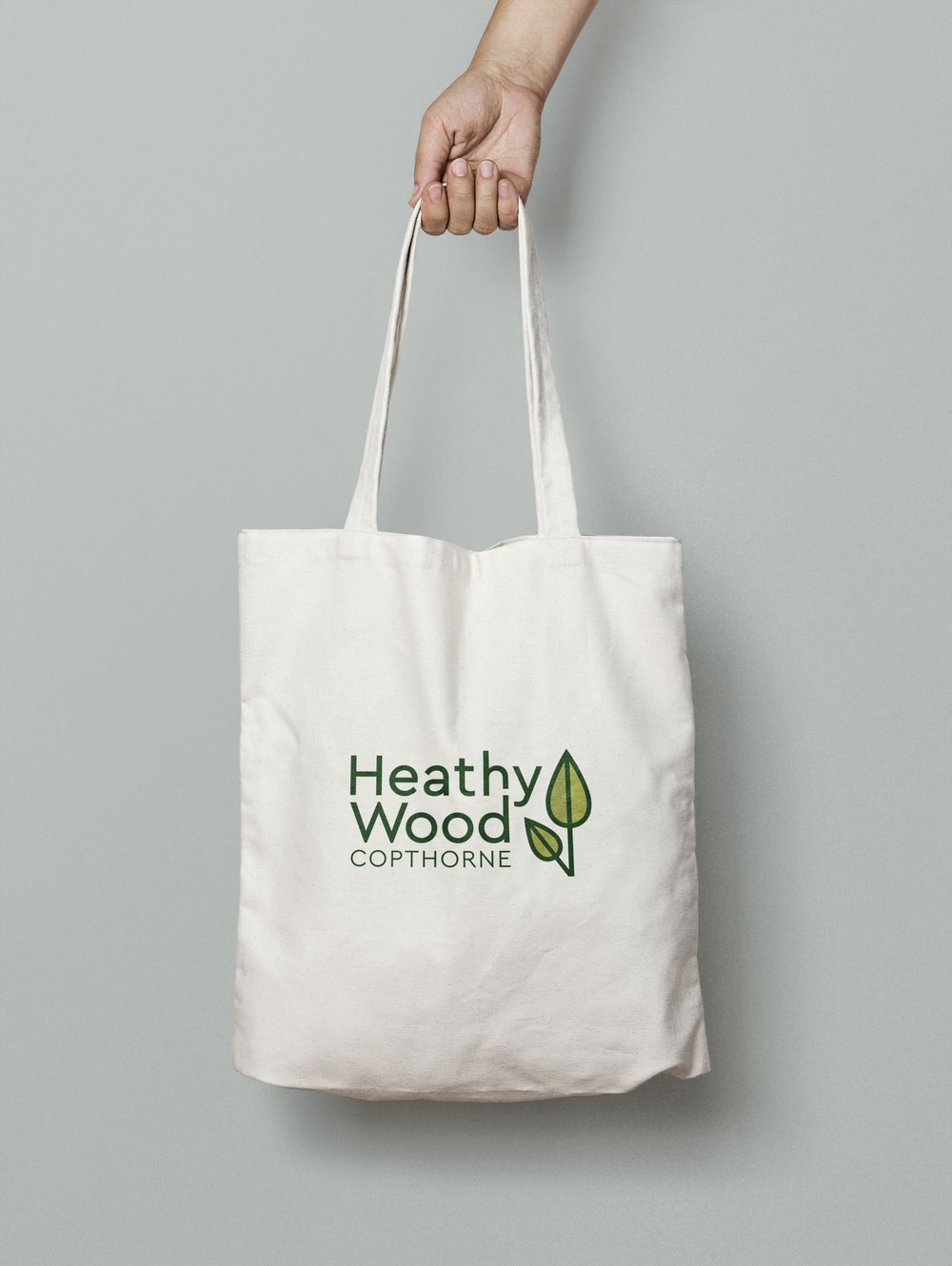 heathy wood bag mockup
