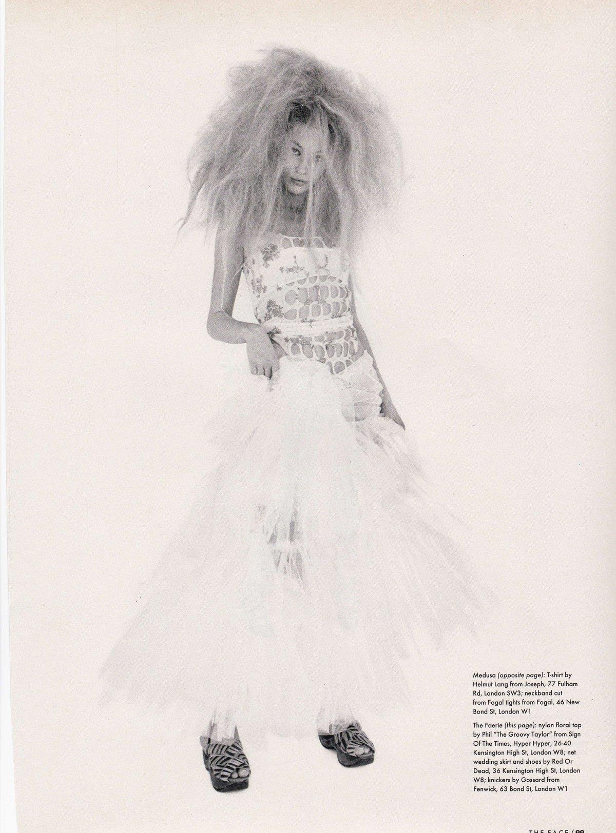 Red or Dead 55 Tulle Wedding Skirt Face '93
