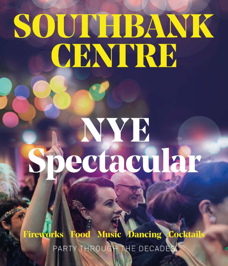 new year's eve southbank centre branding