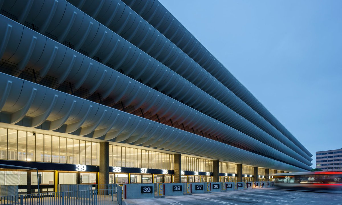 Preston's refurbished bus station. Photograph: Gareth Gardner for The Guardian