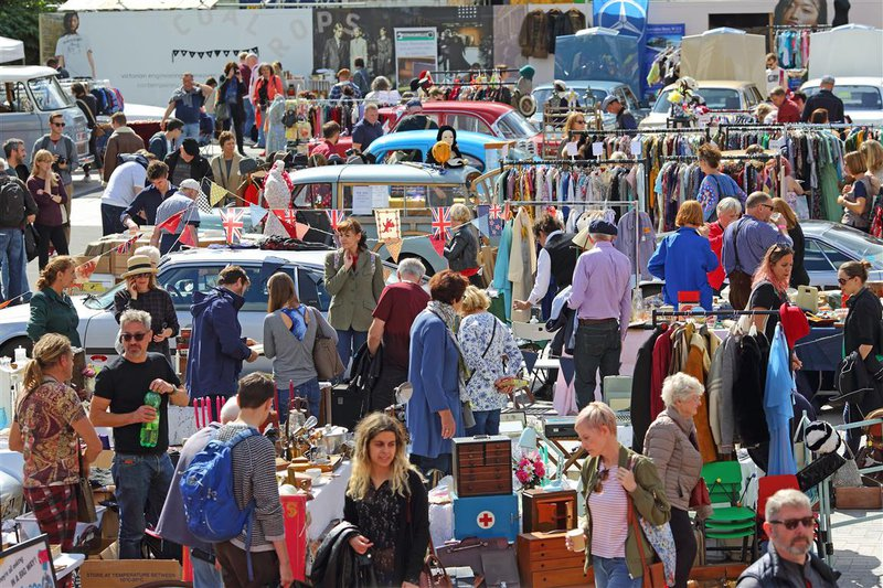Classic Car Boot Sale Kings Cross - September 2017