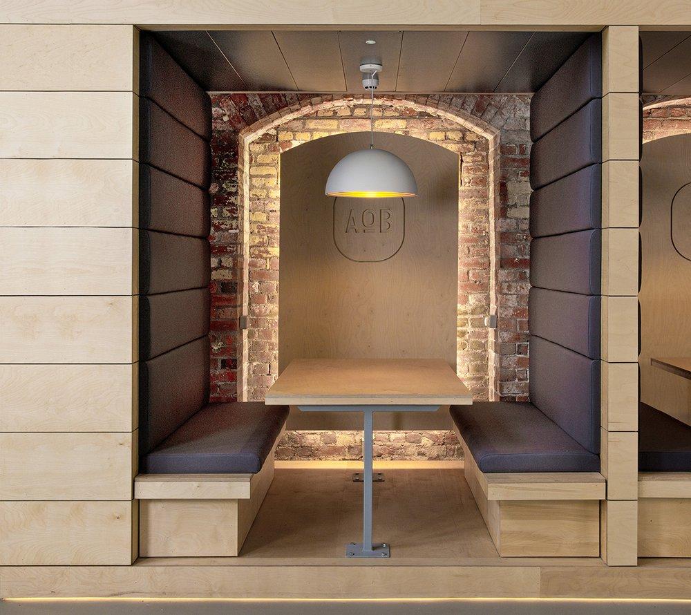 ashton old baths interior meeting area booth