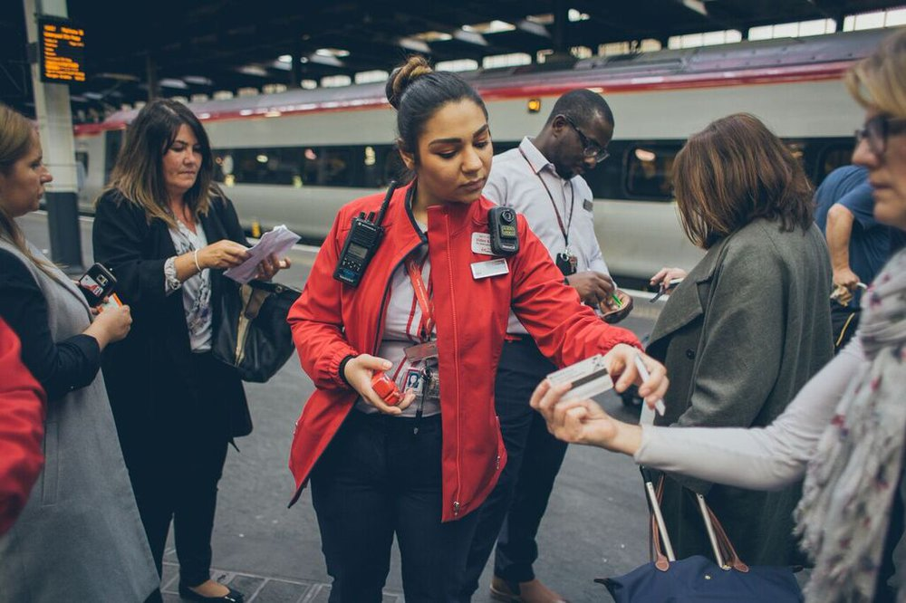 Virgin Trains Uniform | Hemingway Design