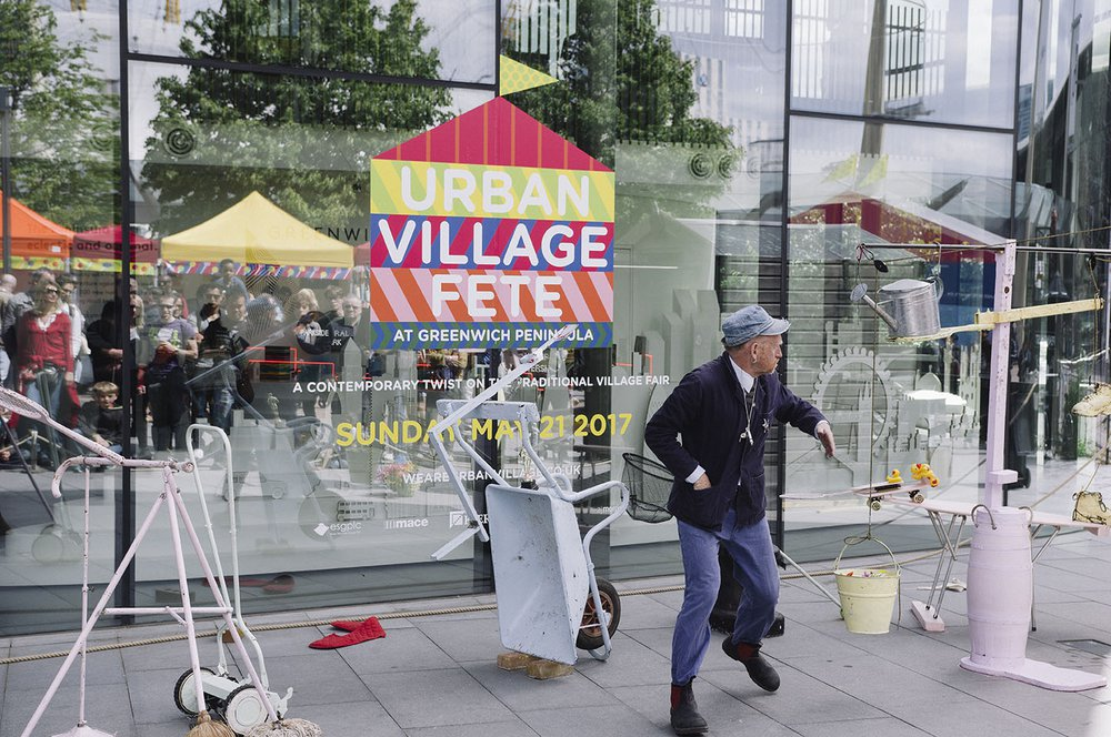 greenwich urban village fete performers