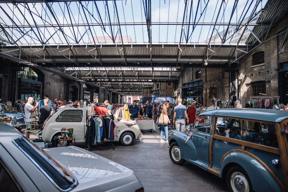 CLASSIC CAR BOOT SALE KING'S CROSS