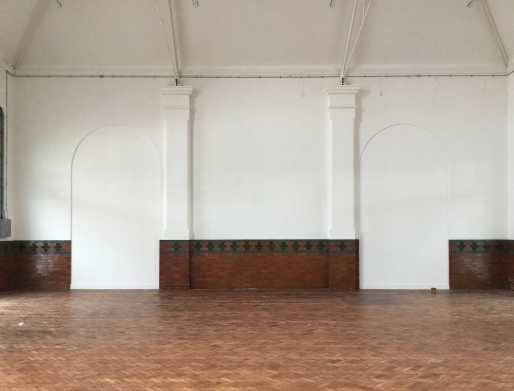 The space to be transformed into a new creative hub for Bognor Regis
