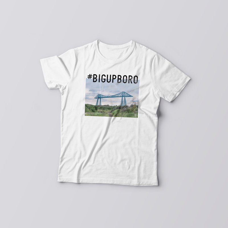 big up boro middlesbrough tee