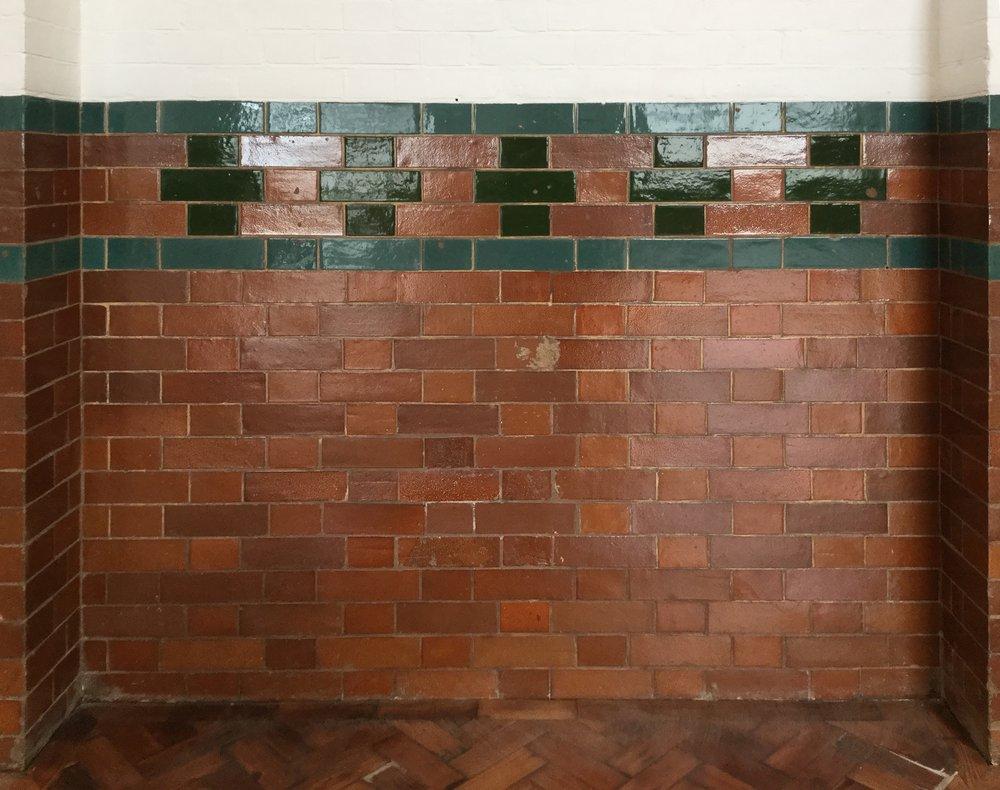 Beautiful original tiling