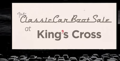 Vintage Presents The Classic Car Boot Sale King's Cross April 2016