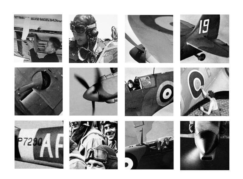 abstract spitfire details imperial war museum