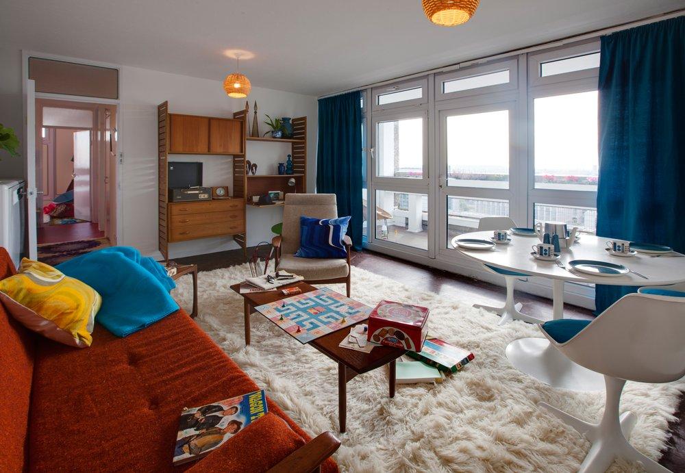 Balfron Tower Livingroom