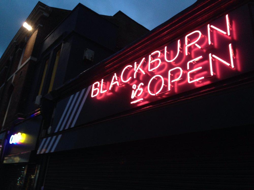Blackburn Is Open
