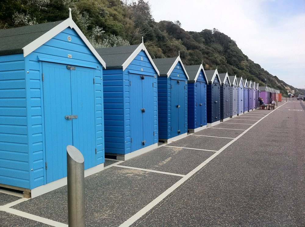 Hut By The Beach In Bournemouth