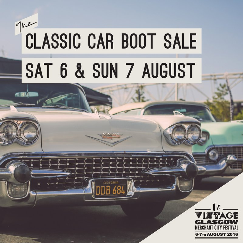 classic car boot sale glasgow