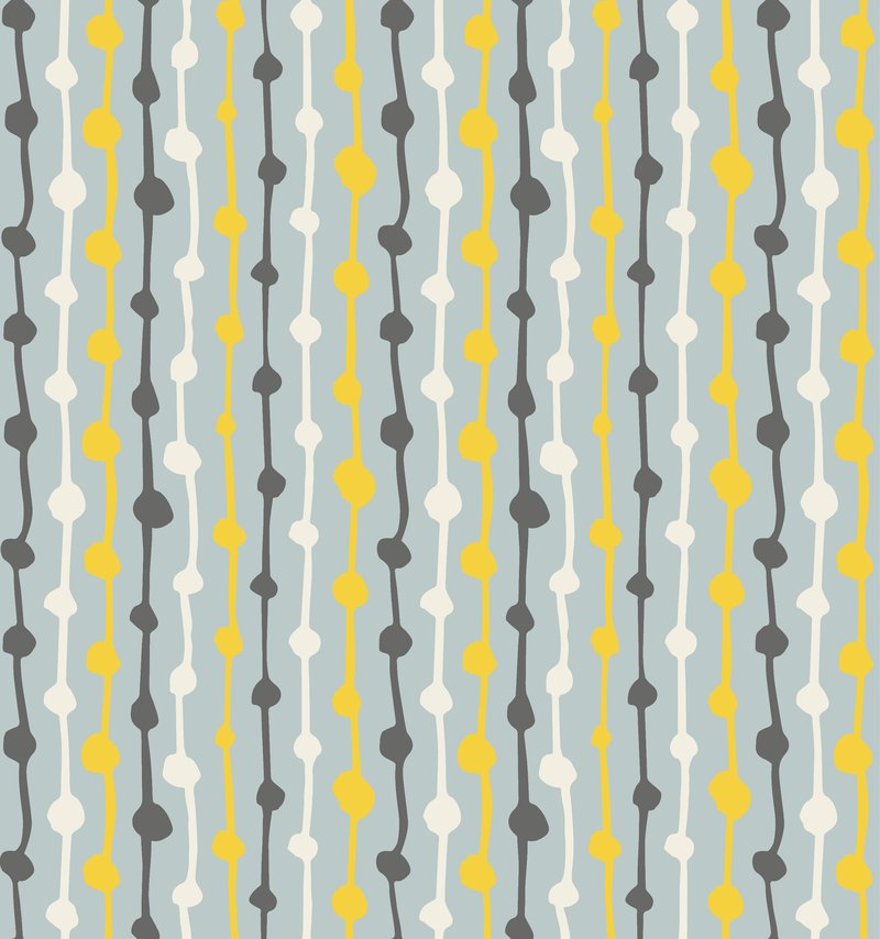 HemingwayDesign Textiles Knotted Up Grey