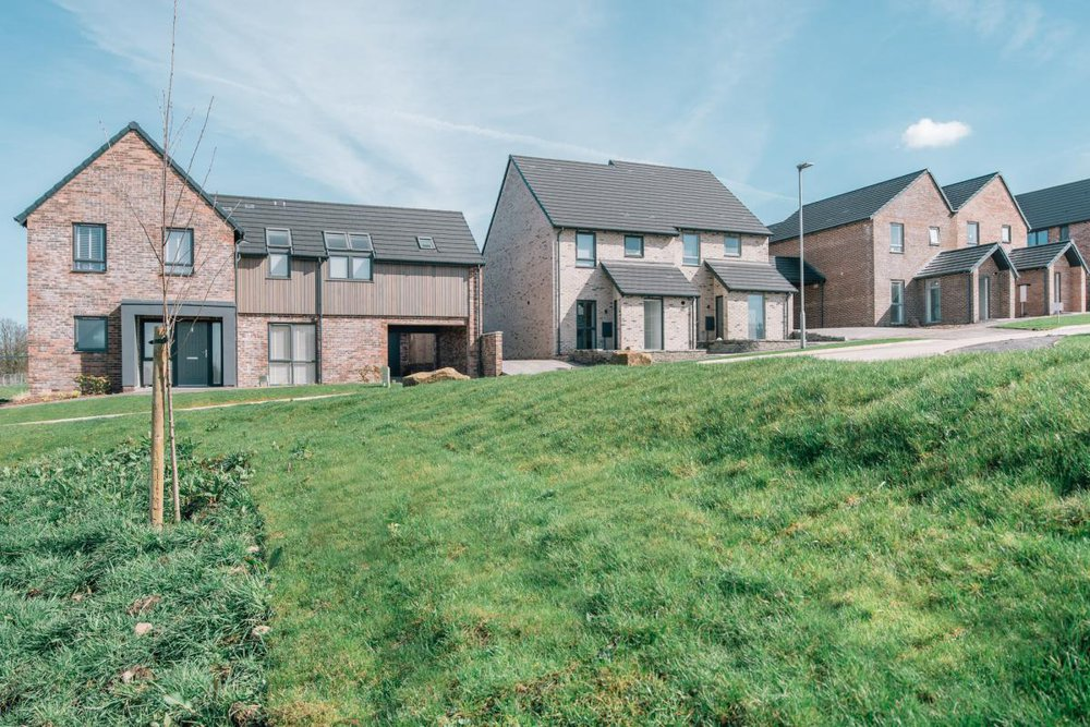 green hills blackburn housing photo