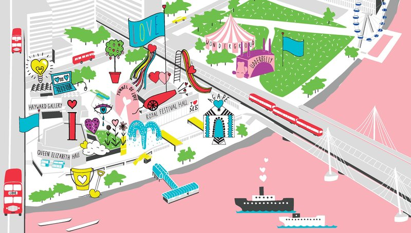 Festival of Love Map