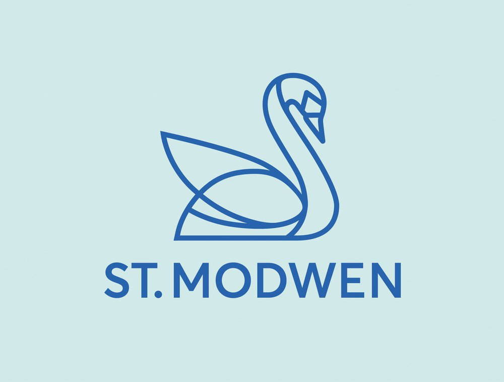 st modwen brand swan logo