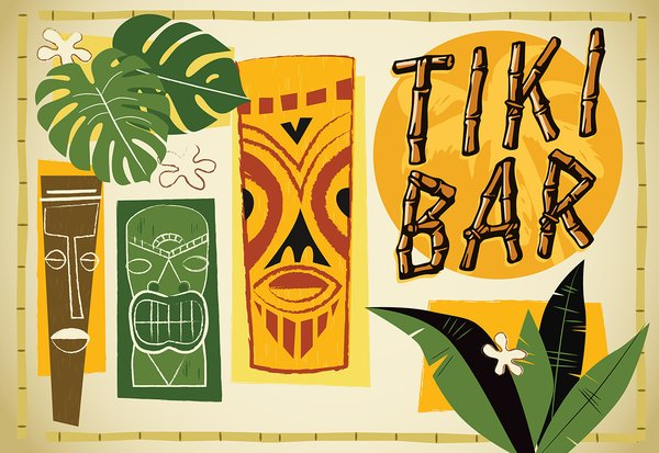 Vintage Tiki 1
