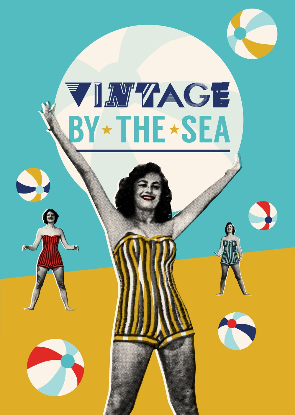 Vintage by The Sea Graphic