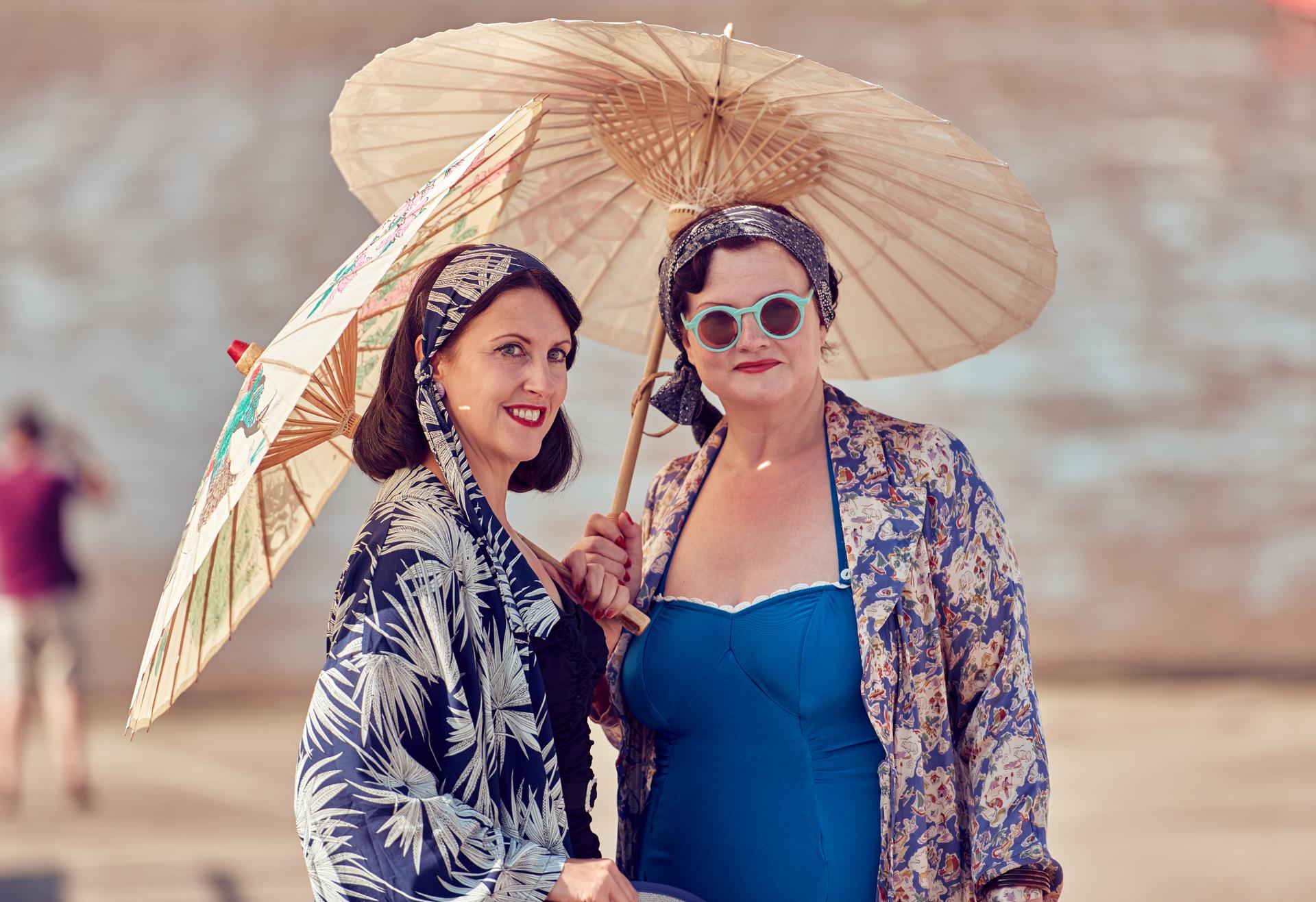 beach vintage by the sea swimwear fashion