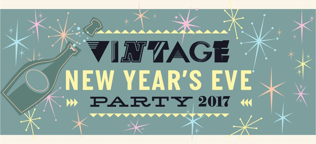 vintage new years eve 2017
